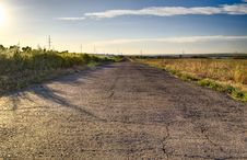 Free Evening Road Royalty Free Stock Photography - 16545667