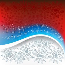 Free Christmas Greeting With Snowflakes Royalty Free Stock Photo - 16545785