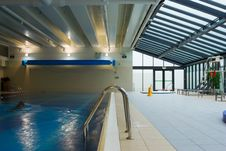 Swimming Pool Interior Royalty Free Stock Photography