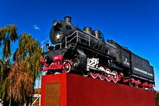 The Locomotive Industrial Monument Stock Photo