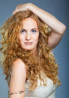 Free Portrait Of Beautiful Lady Stock Images - 16546344