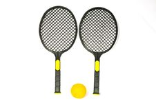 Free Black Rackets Stock Images - 16546644