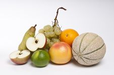 Free Fruits On White Background Royalty Free Stock Photo - 16546805