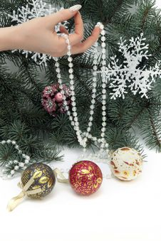 Free Hanging Glass Ornament Royalty Free Stock Photo - 16547075