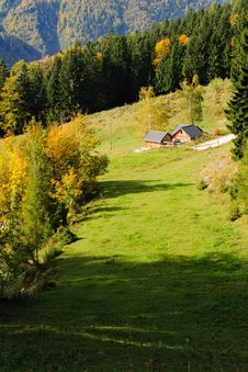 Free Autumn In The Alps No.1 Stock Image - 16547091