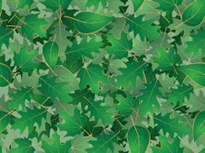 Free Green Leaves Seamless Background Royalty Free Stock Image - 16547426