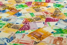 Free Euro Banknotes Royalty Free Stock Image - 16547466