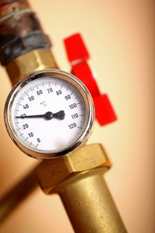 Free Temperature Gauge Stock Photos - 16548193