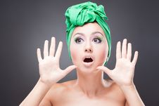 Free Surprised Excited Woman Royalty Free Stock Image - 16548286