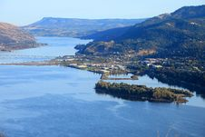Free Hood River Town, Oregon. Stock Photos - 16548313