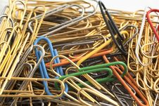 Free Paper Clips Royalty Free Stock Photos - 16548548