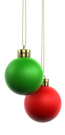 Free Christmas Baubles Stock Image - 16549841