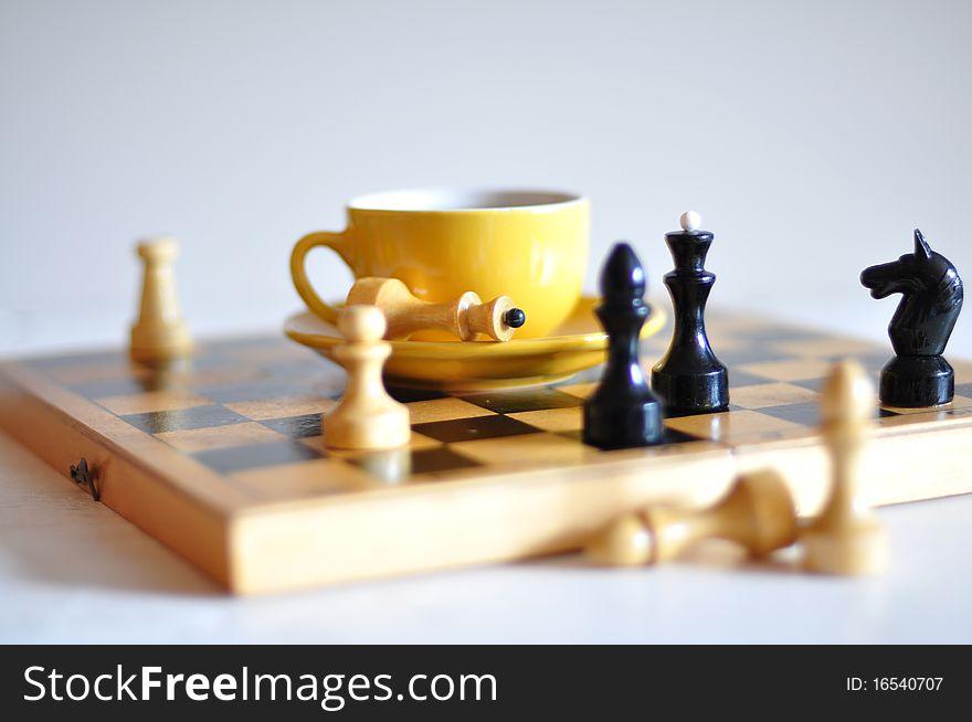 Tea and chess