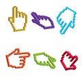 Free 3D Cursor Hand Royalty Free Stock Photos - 16550578