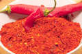 Free Ground Chili Peppers Royalty Free Stock Photography - 16550787