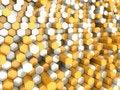 Free Orange Hexagons Stock Photo - 16559000
