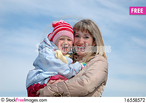 Free Happy Mother And The Child Stock Photography - 16558572