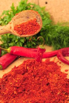 Free Ground Cayenne Pepper Royalty Free Stock Image - 16550526