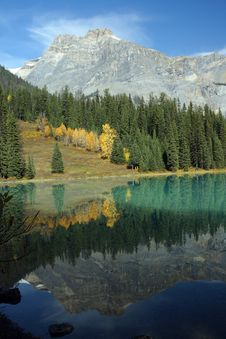 Free Emerald_lake_reflections Stock Photos - 16550543