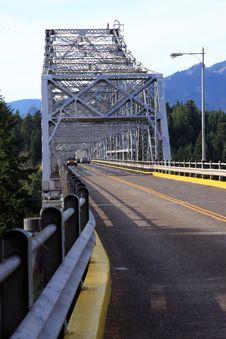 Free Bridge Of The Gods, Oregon. Royalty Free Stock Photos - 16550998