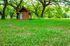 Free Hut On Green Grass Royalty Free Stock Photography - 16551377