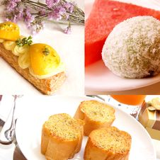Free Gourmet Dessert Collage Stock Photo - 16552680