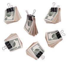 Free Pack Dollars Stock Photos - 16552863