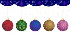 Free Christmas Bauble Royalty Free Stock Photo - 16552975
