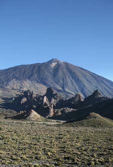 Free Mountain On Canary Islands Royalty Free Stock Photos - 16553218