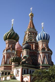Saint Basil S Cathedral Royalty Free Stock Photo