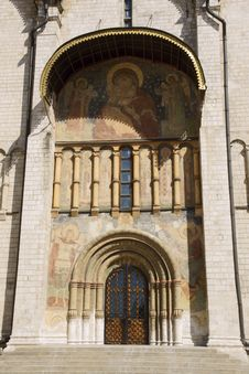 Free Orthodox Chatedral In Kremlin Royalty Free Stock Photography - 16554147