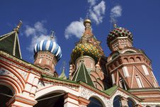 Saint Basil S Cathedral Stock Image