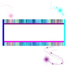 Free Multicolor Frame Background Royalty Free Stock Photography - 16554537
