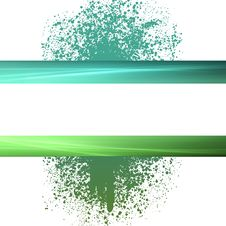 Free Green Splatter Copyspace Background Royalty Free Stock Photography - 16554547