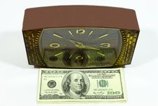Hours And Dollars Royalty Free Stock Image