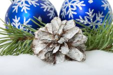 Free Christmas Decorations Royalty Free Stock Image - 16554986