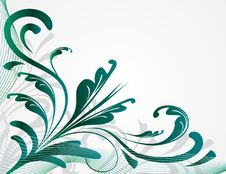 Free Abstract Background With Plants Royalty Free Stock Photos - 16555118