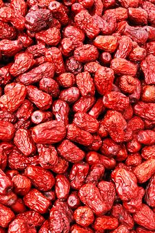 Free Dry Red Dates Stock Photo - 16555930