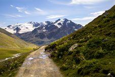 Free Mountain Path Stock Image - 16557391