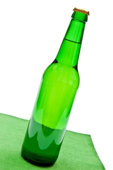 Free Beer Bottle Royalty Free Stock Photos - 16557528