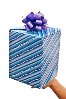 Free Blue Present Stock Photos - 16557543