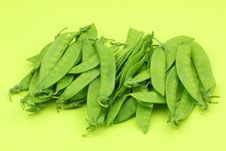 Snow Peas Royalty Free Stock Photo