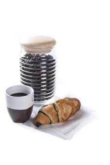 Free Coffee Breakfast Royalty Free Stock Photo - 16558435
