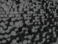 Free Black Hexagons Royalty Free Stock Images - 16558969