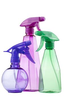 Free Plastic Spray Royalty Free Stock Photo - 16559165