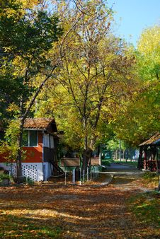 Free Autumn In Village Stock Photos - 16559403