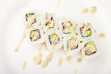 Free Japanese Sushi Close Up Stock Photo - 16559550