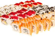 Free Japanese Sushi Royalty Free Stock Photography - 16559597