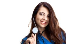 Free Woman Doctor Stock Photo - 16559610