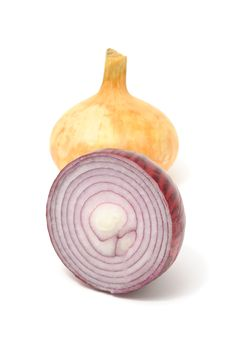 Free Red And Yellow Onions Royalty Free Stock Photo - 16559845